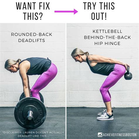 fix deadlift drill rounded position deadlifts setting tip quick better achievers kettlebell achieve fitness instagram
