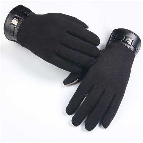 mens gloves finger smartphone touch screen