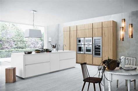 cuisine moderne blanche et bois meuble moderne pour cuisine bois d 39 ambiance authentique