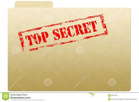 secret document folder stock  image