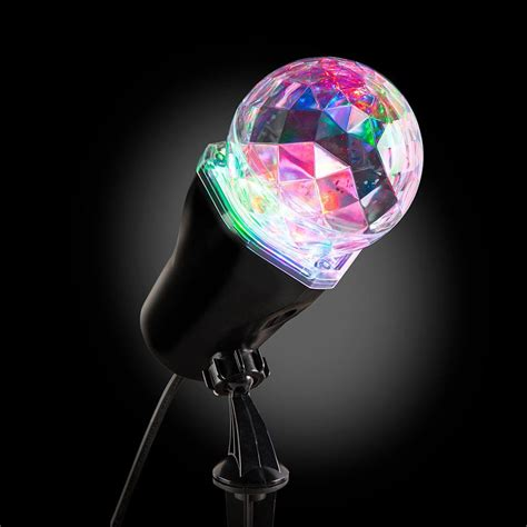 christmas light show projector lightshow applights projection spot light stake 37871