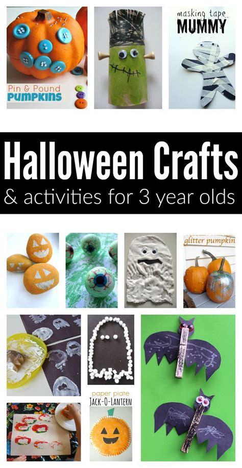 easy halloween crafts  activities   year olds