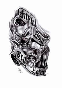 Smile Now, Cry Later tattoo by Paty47 on DeviantArt