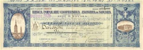 Popolare Di Novara Sede Legale Bancari Portafoglio Storico