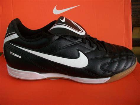 nike tiempo iii ic black white sepatu bola sepatu