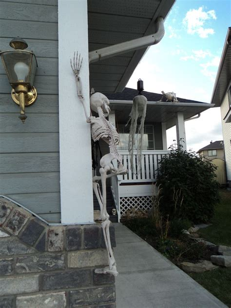 skeletons climbing house 17 best images about our halloween house on pinterest adoption walmart and sports banners