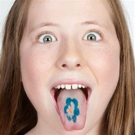 Tatouages De Langue Pour Fille à 1,50