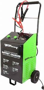 Forney 52725 Wheeled Battery Charger  2  10  40  200