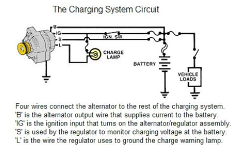 For A Dodge Ram 2500 Alternator Wiring Diagram by Increase Charging Rate From Alternator To Cer Dodge