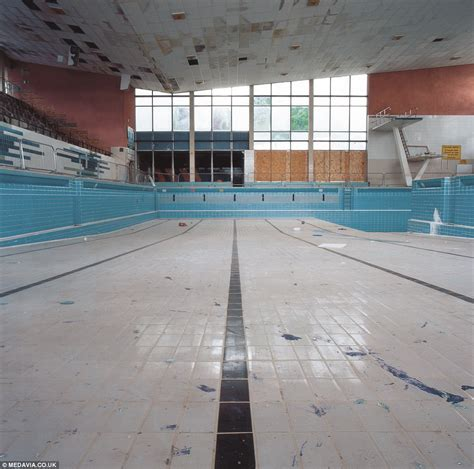 Swimming In Urban Decay Eerie Images Of Britain's