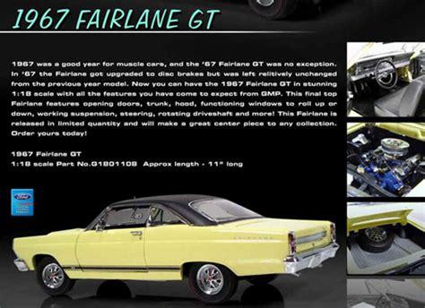 ford fairlane gt  details diecast cars diecast