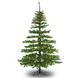Skinny Pre Lit Christmas Tree by 10 Ft X 62 In Slim Tiffany Pine Pre Lit