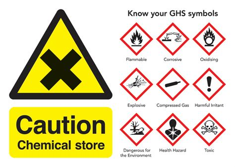 chemical signs chemical warning safety signs seton uk
