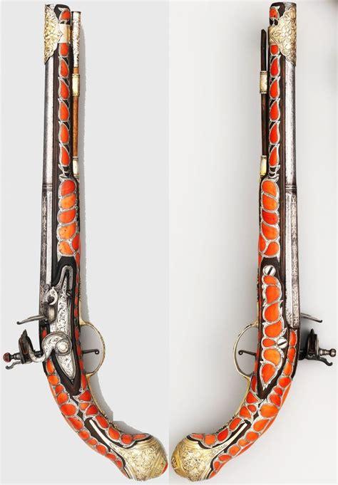 L Armée Ottomane by Ottoman Balkan Flintlock Pistol 18th Century Steel
