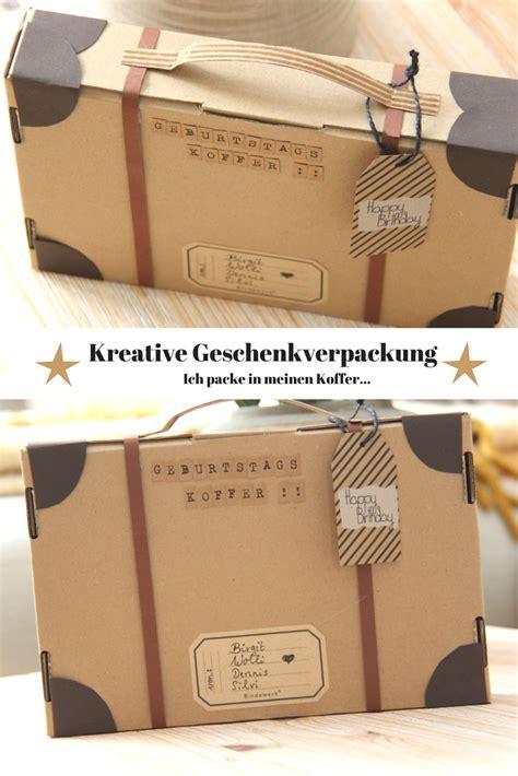 kreative geschenkverpackung basteln ein
