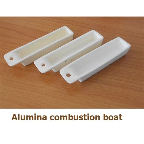 Coors High Alumina Combustion Boat by Alumina Combustion Boat Glassware Chemical
