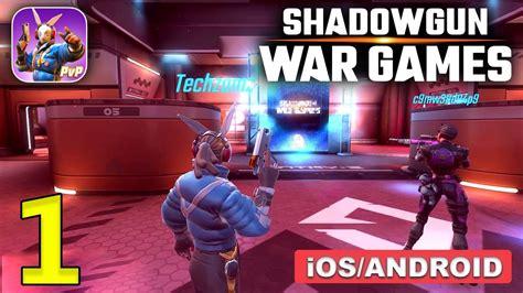 Shadowgun War Games Gameplay (Android, iOS) - Part 1 BETA ...