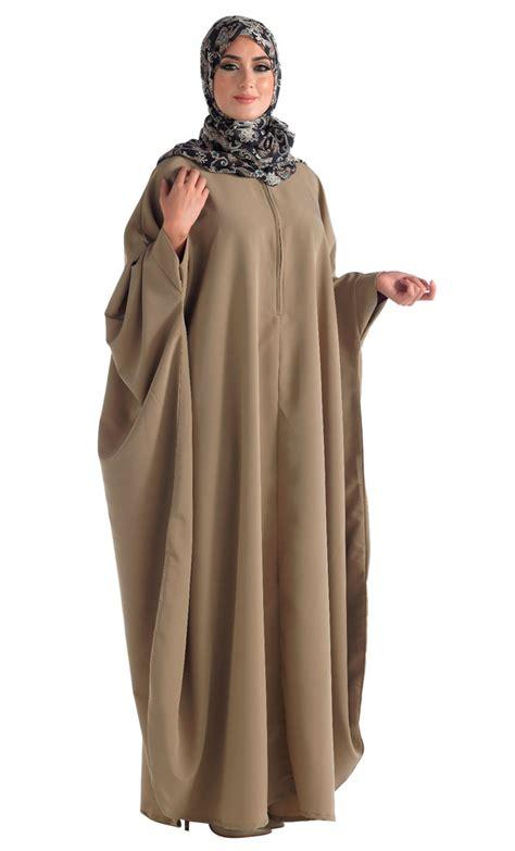 celana panjang lipit kimono kaftan abaya with zipper front