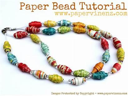 Paper Tutorial Bead Summer Beads Fun Making