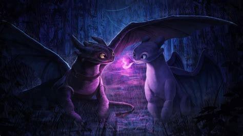 wallpaper   train  dragon night fury animation