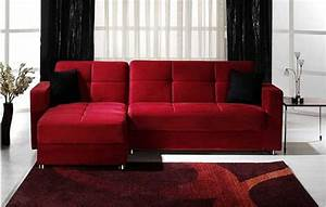 Modern sectional sofa by istikbal for Modern red fabric sectional sofa