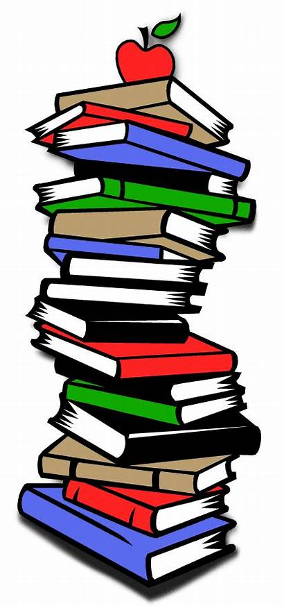 Books Stack Cartoon Clipart Reports Advertisement