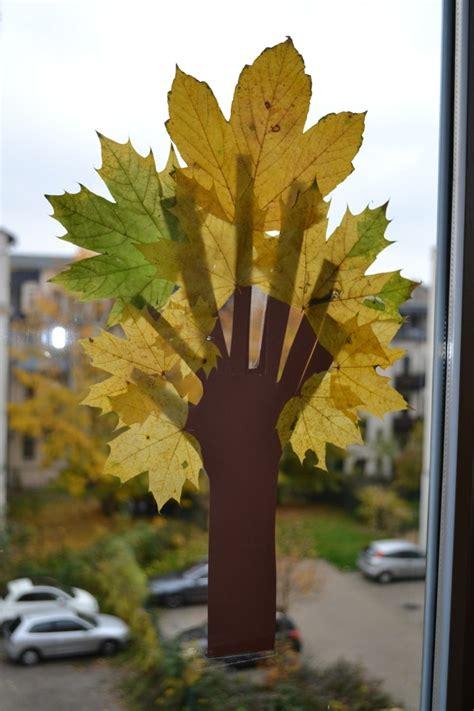 Herbst Fenster Basteln by Fensterbilder Basteln 64 Diy Ideen F 252 R Stimmungsvolle