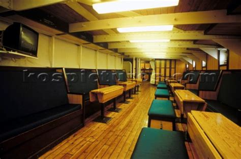 Staff quarters on cruise ships