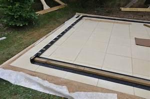 Terrasse Sur Sable : terrasse dalle beton sur lit de sable nos conseils ~ Melissatoandfro.com Idées de Décoration