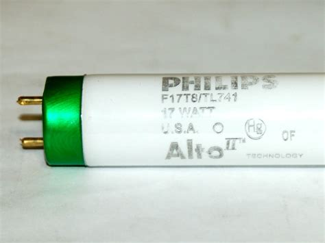 philips 17 watt 24 inch t8 cool white fluorescent bulb