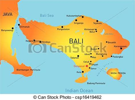 map  bali country clip art vector search drawings