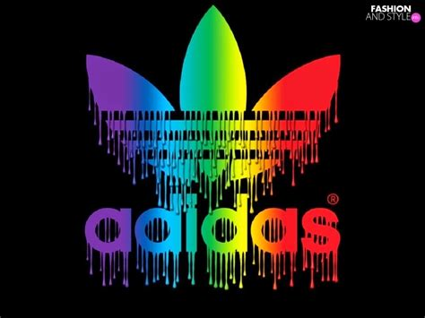 colorful addidas colorful adidas logo hd wallpaper pictures fashion s