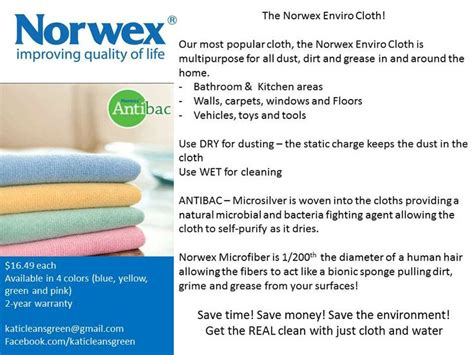 Norwex Boat Cleaner by 68 Best Images About Enviro Cloth On Stains