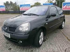 Clio 2 2003 : renault 2003 clio 1 2 16v a c dynamique black billabong car for sale ~ Medecine-chirurgie-esthetiques.com Avis de Voitures
