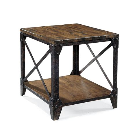 wood and metal end tables 24 x 36 ft metal shop plans with loft prices smart metal