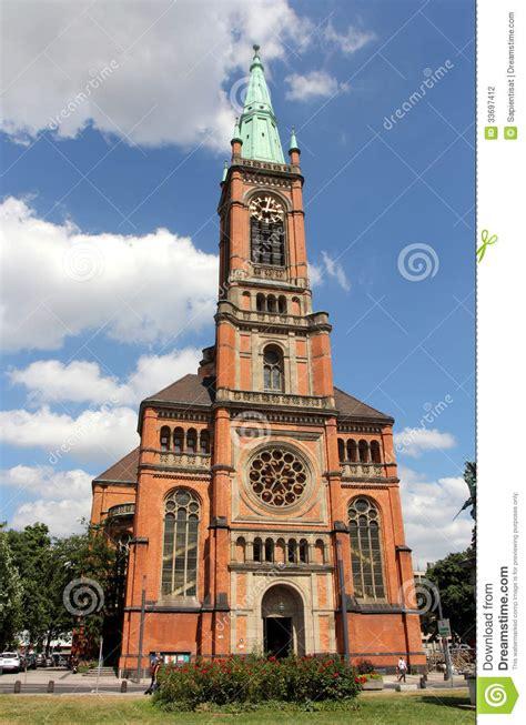st johns church  dusseldorf editorial photography