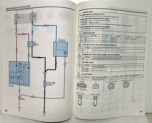 1998 Toyota Tercel Electrical Wiring Diagram Manual Us