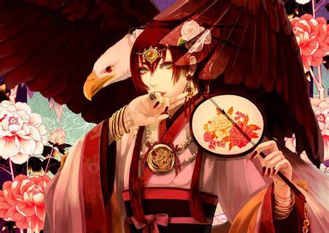 wallpaper fantasy art anime red chinese  year