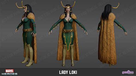 Dat Lady Loki Cape Marvel Heroes 2015 Lady Loki Lady