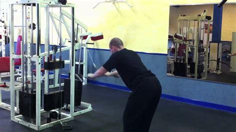 ueberzuege  kabelzug fitnessuebung fuer den ruecken youtube