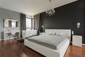 Tapeten mehr 12 ideen zur wandgestaltung im schlafzimmer for Wandfarbe schlafzimmer beispiele