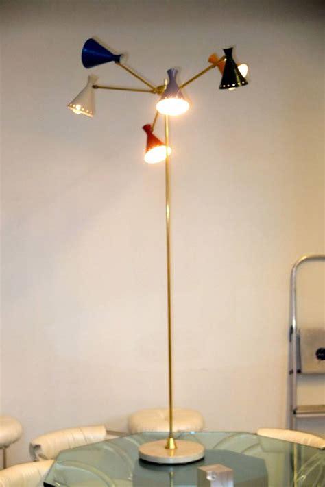 multi light floor l italian multi arm floor l for sale at 1stdibs