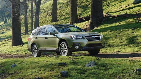 subaru outback 2018 subaru legacy and outback pricing announced the