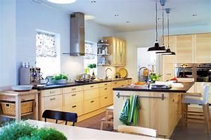 carrelage mural cuisine ikea rnover une cuisine comment With superior meuble ilot central cuisine 16 cuisine bois et noir cuisines en bois cuisines et modles