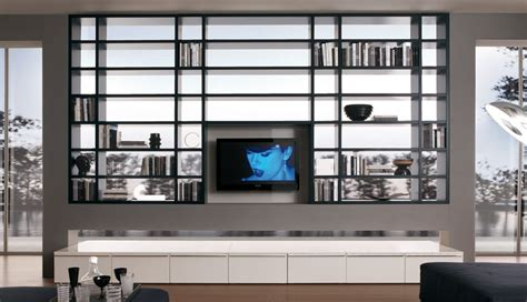 wall units for tv storage 20 modern living room wall units for book storage from misuraemme digsdigs