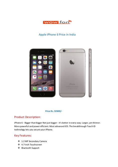 iphone 6 india price apple iphone 6 price in india