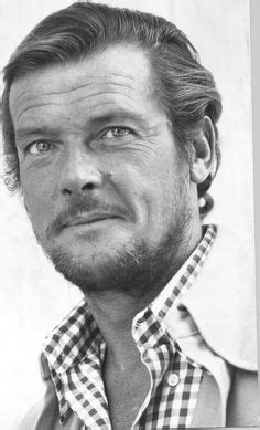 roger moore print an old knitting pattern featuring sir roger moore