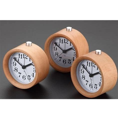 marathon analog desk alarm clock gorgeous hand made silent wooden alarm clocks colour my