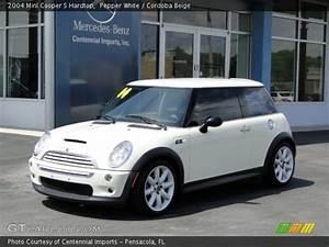 Mini Cooper Beige : pepper white 2004 mini cooper s hardtop cordoba beige interior vehicle ~ Maxctalentgroup.com Avis de Voitures