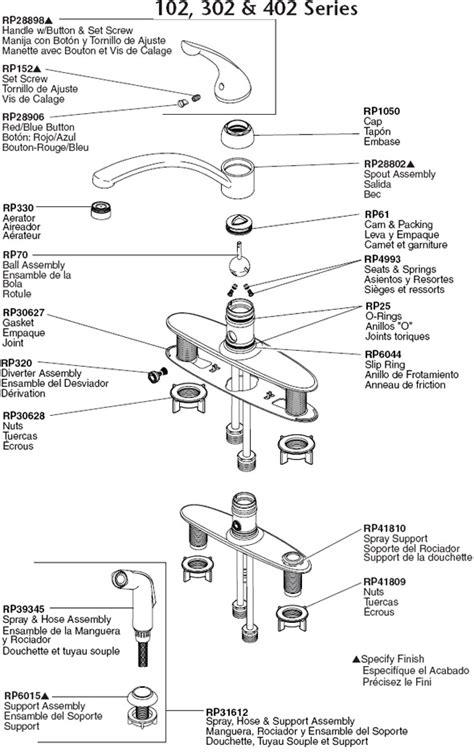 plumbingwarehousecom delta kitchen faucet parts